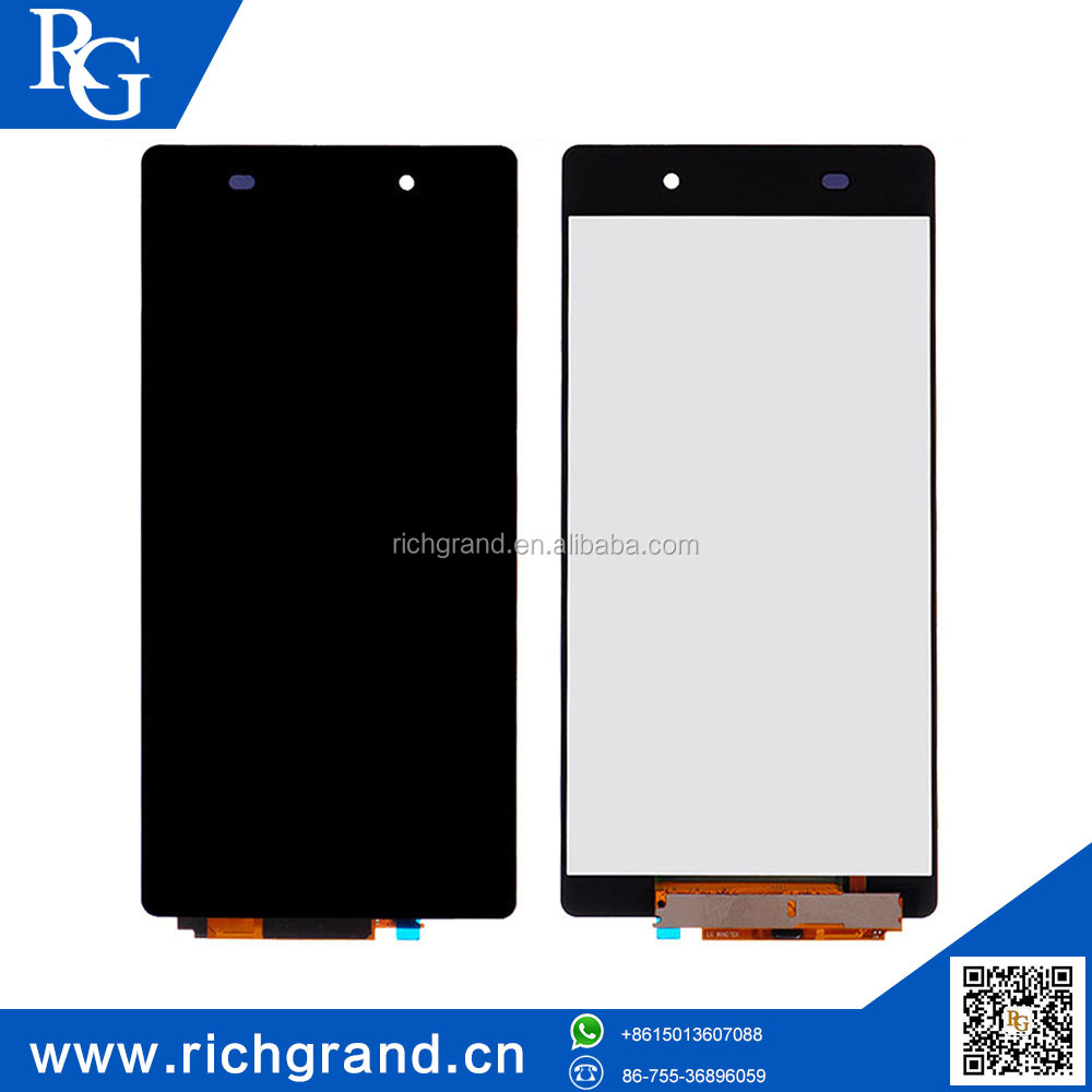 For Sony Xperia Z2 D6502 D6503 D6543 LCD screen display digitizer touch assembly