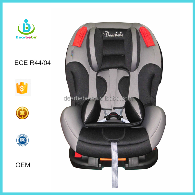 ECE R44 04 Ningbo Dearbebe Group 1+2 Forward Facing Child Safety Seat Luxury Baby Convertible Car Seat