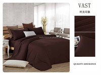 Latest Design Elegant duvet cover with zipper flax linen bedding