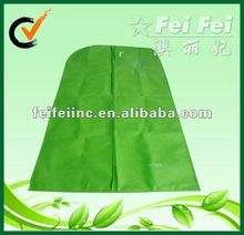 Cheap Green Eco-friendly Reusable PP Nonwoven Garment Suit Bag