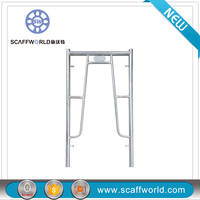 Galvanized Steel Construction Shoring Frame Formwork Type Frame Scaffolding