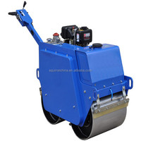 Hot Sale Handle Road Roller Compactor with honda gx270 used to compact soil,asphalt,gravel