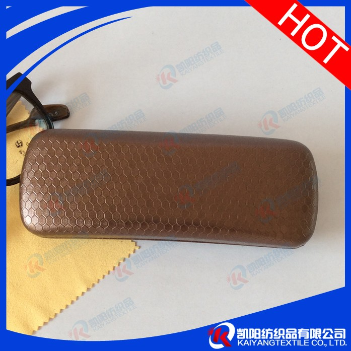 Simple style single color eyeglass case holders for men