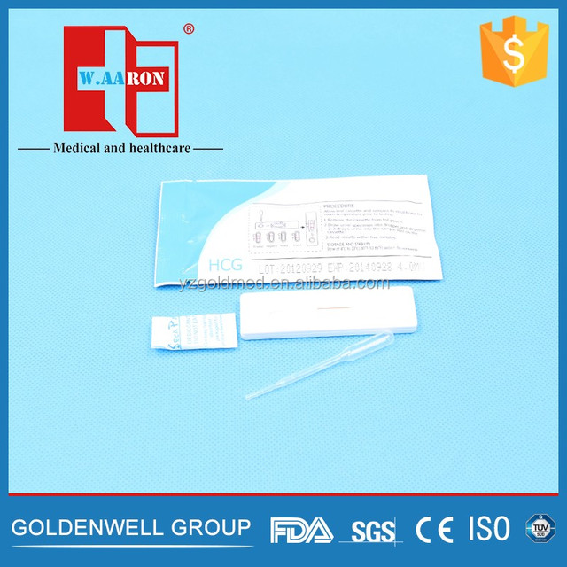 Pregnancy Test Cassette Rapid test hcg