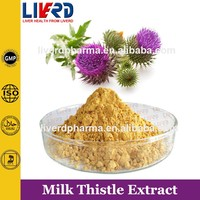 Herb Medicine Solvent Extraction Milk Thistle for Antiaging