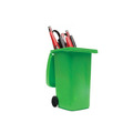 Custom promotional item garbage pen container