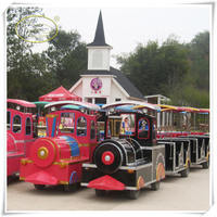 Tourist Train Amazing! Popular Diesel Tourist Train ride for Amusement Park