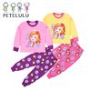 New Fashion Autumn winter baby sets cartoon Frozen coat set long sleeve hoodie+pants children clothing set for girls stock