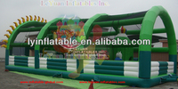 Outdoor inflatable fun city/large inflatable combo/inflatable rides en14960