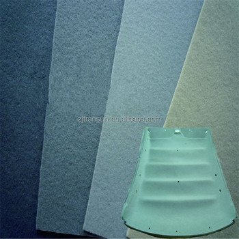 car parts roof ceiling headliner polyester or polypropylene needle punch felt nonwoven fabric