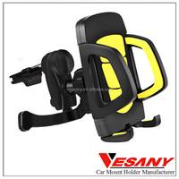 Vesany Shenzhen Manufacturer Gold Supplier High Quality Universal Cell Phone Car Holder Air Vent Mount