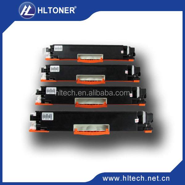 CE310A/CE311A/CE312A/CE313A compatible color toner cartridge for HP CP1025/ Pro <strong>100</strong>/ M175nw,LBP7010C/7018C(CRG329)