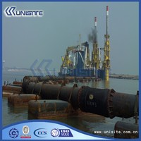 floating pontoon boat pontoon for marine building and dredging(USA1-024)