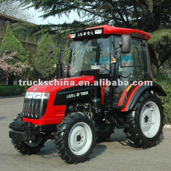 Wuzheng Brand large torque 50hp 4WD farm tractor