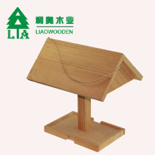 Wood Bluebird Nesting House,Unfinished Wood Natural Bird House pigeon nest box