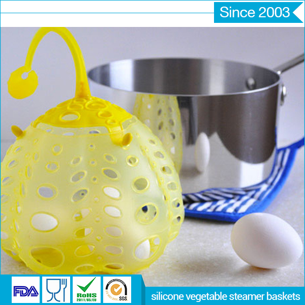 silicone steamer basket good quality safe silicone vegetable steamer for microwave