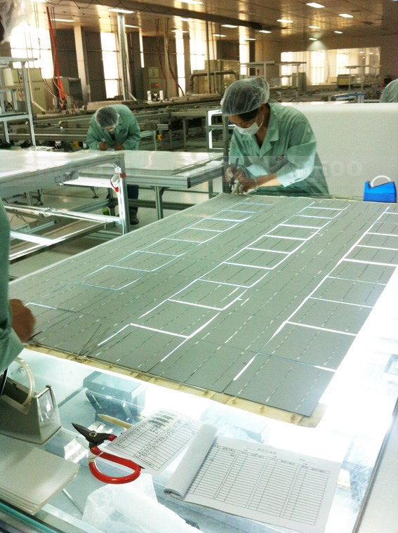 REOO Supply Good Quality Solar Panel Production Line 10 MW Annual Production