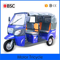 New 2015 bajaj tuktuk battery rickshaw electric tricycle for passenger with high quality for bangladesh market