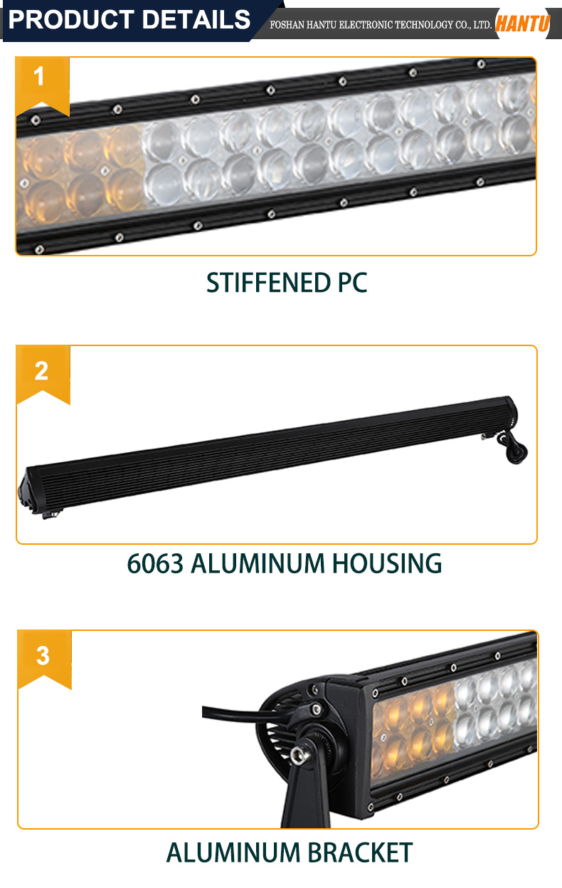 Foshan auto parts aluminum housing high powered led driving light