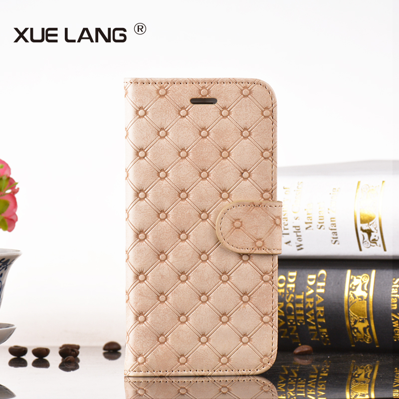 Wholesale PU leather phone case cover for huawei ascend p6
