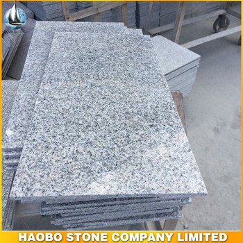 Haobo high quality G603 cheap gray granite tile 30*60 thin tile