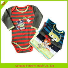 New arrival newborn baby clothes set fluffy baby one piece rompers
