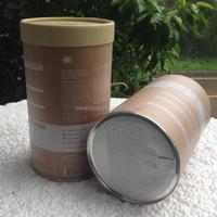 Custom Paper Aluminium foil food container with paper lid