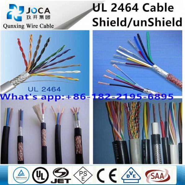 24AWG UL2464 Multiple-conductor PVC cable