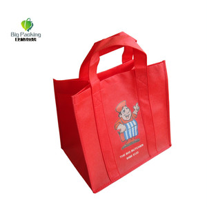 customized promotional laminated gift shopping tote polypropylene pp non woven bag