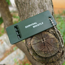 Outdoor Sports Green Survival Emergency Whistle