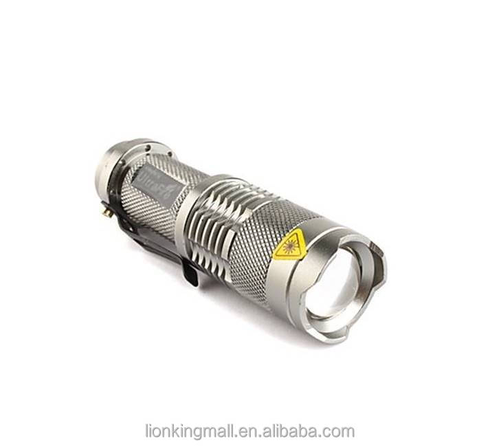 SK68 CREE XPE LED 3 model Portable Zoom Mini Flashlight torches Adjustable Focus flash for AA or 14500 rechargeable battery