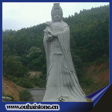 Large size outdoors statues granite raw material products antique stone sculpture