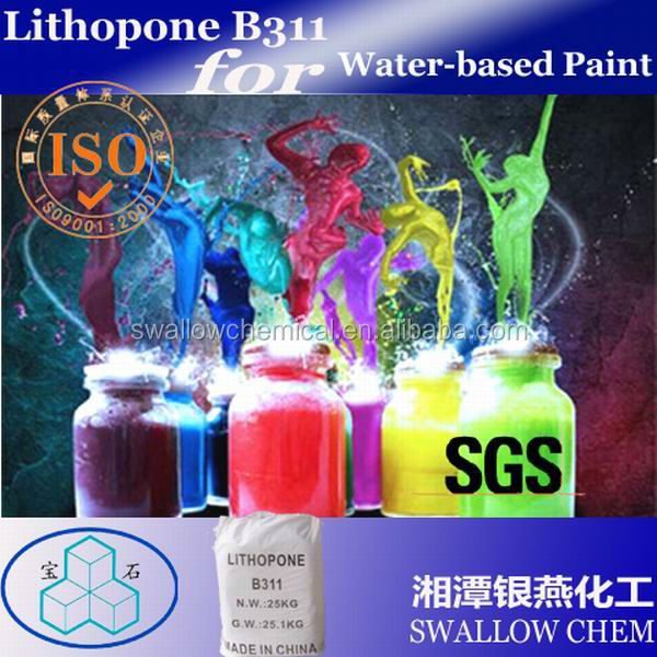 Lithopone B311 used in water based paint