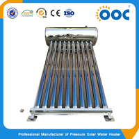 Stainless Steel Compact Non Pressurized Solar