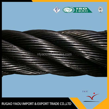 high quality hot sale galavized line contacted wire rope