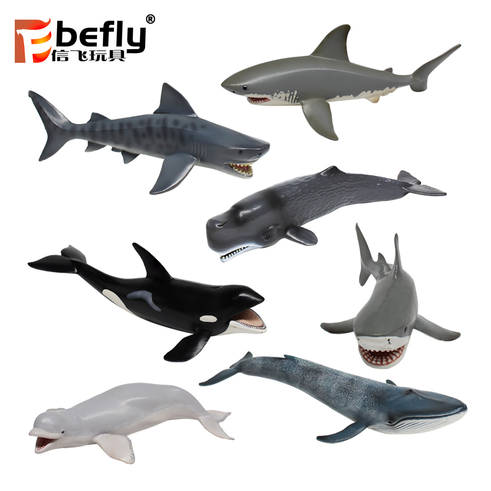 World underwater plastic PVC sea animals toy for sale