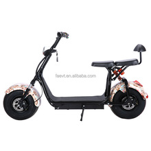 2018 New Recommend CITYCOCO 1000w 60v12ah 2000w eec approved electric scooter with CE