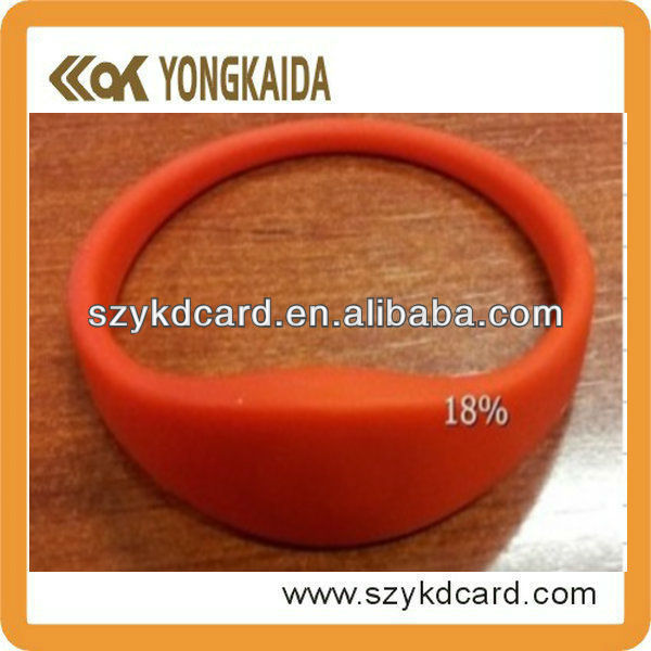 Super power rfid t5577 wristband/bracelet with fast delivery