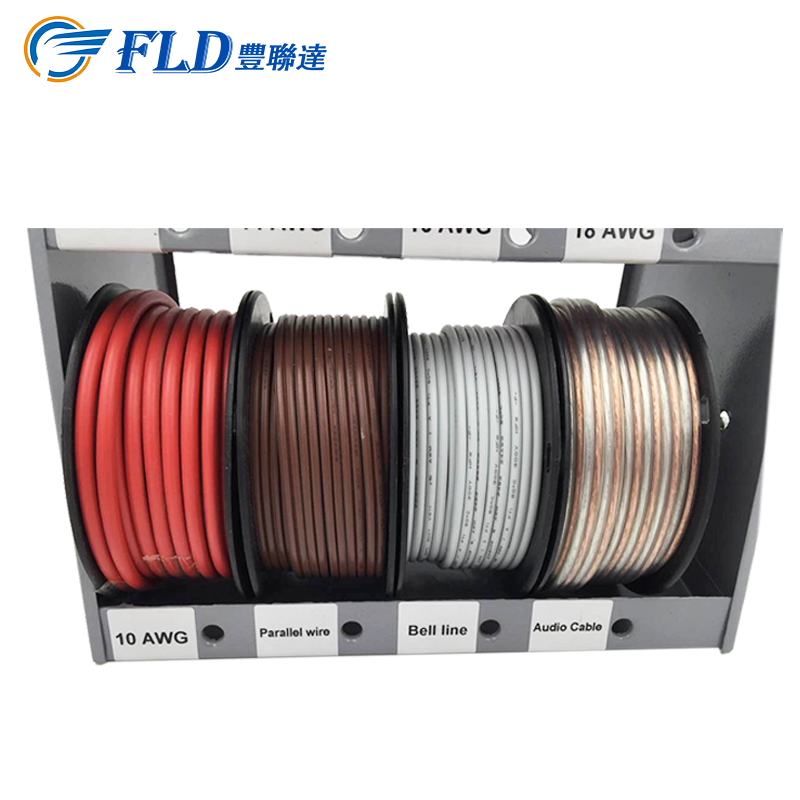 Shenzhen factory supply colorful AWG12 AWG16 AWG18 power wire network cable for auto stereo wire