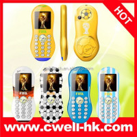 World Cup 2014 F9 Dual SIM Card GSM Mobile Phone