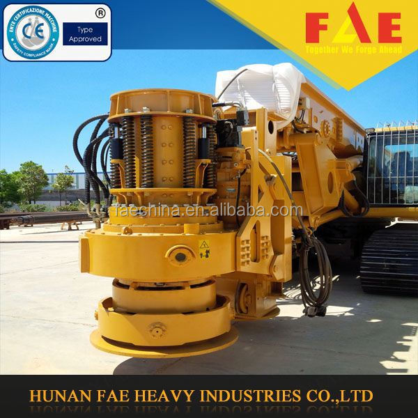 Hot selling pile driver! Multi-function reliable crawler small/mini rotary drilling rig FAR75 with REXROTH motor reducer