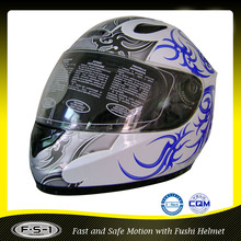 Low price customized cool auto racing helmet full for adult