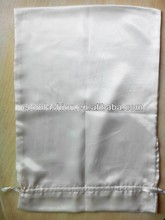 Customize luxury Nightwear silk satin sleeping bag, satin bag, gift drawstring satin bag