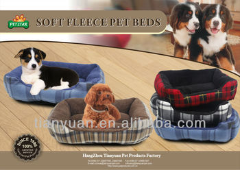 soft fleece fabric dog house/pet bed/dog bed