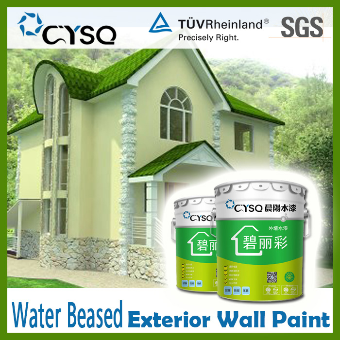 Water Based exterior paint thick coating