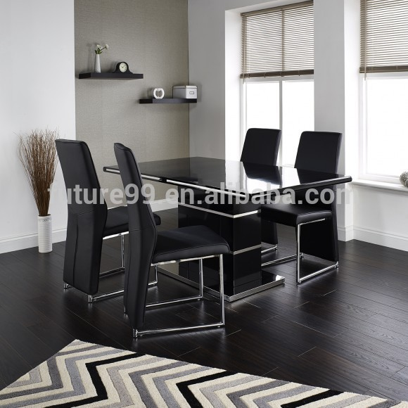 Modern wood german mdf dining room furniture buy german for Dining room in german