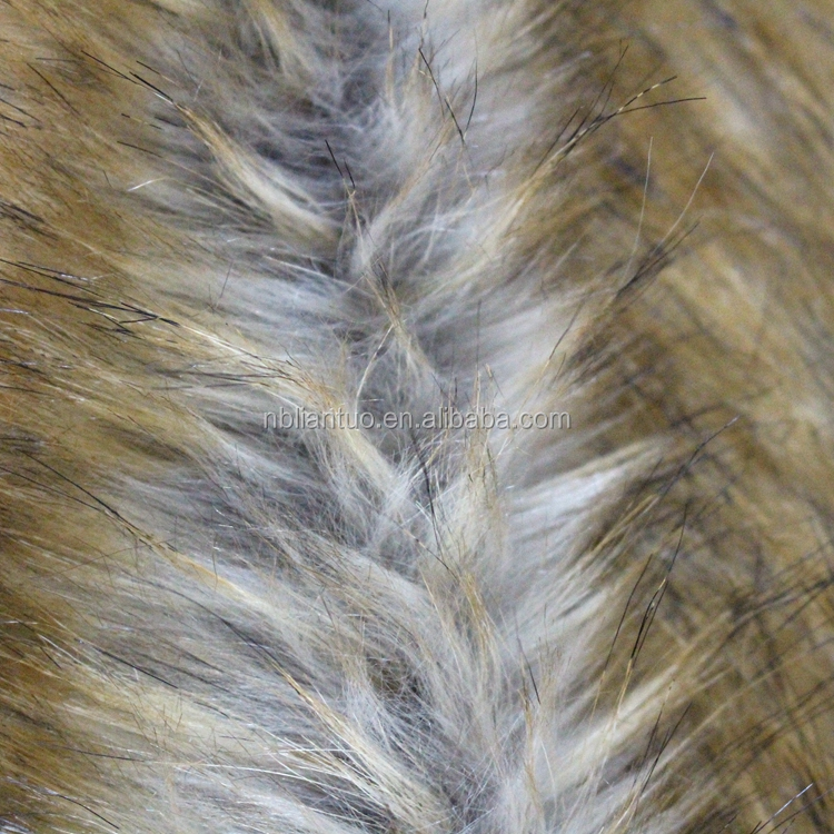 Cheap Long Pile Faux Fur From China Factory