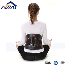Leather lumbar belt waist support lower back brace for back spine pain relief workers waist protector