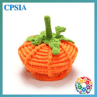 Lovely Pumpkin Style Crochet Knitted Hats Aim At 0-5 Year old Baby Toddler Newborn Kids
