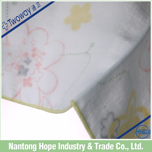 Ladies colorful cute design cotton wholesale handkerchief